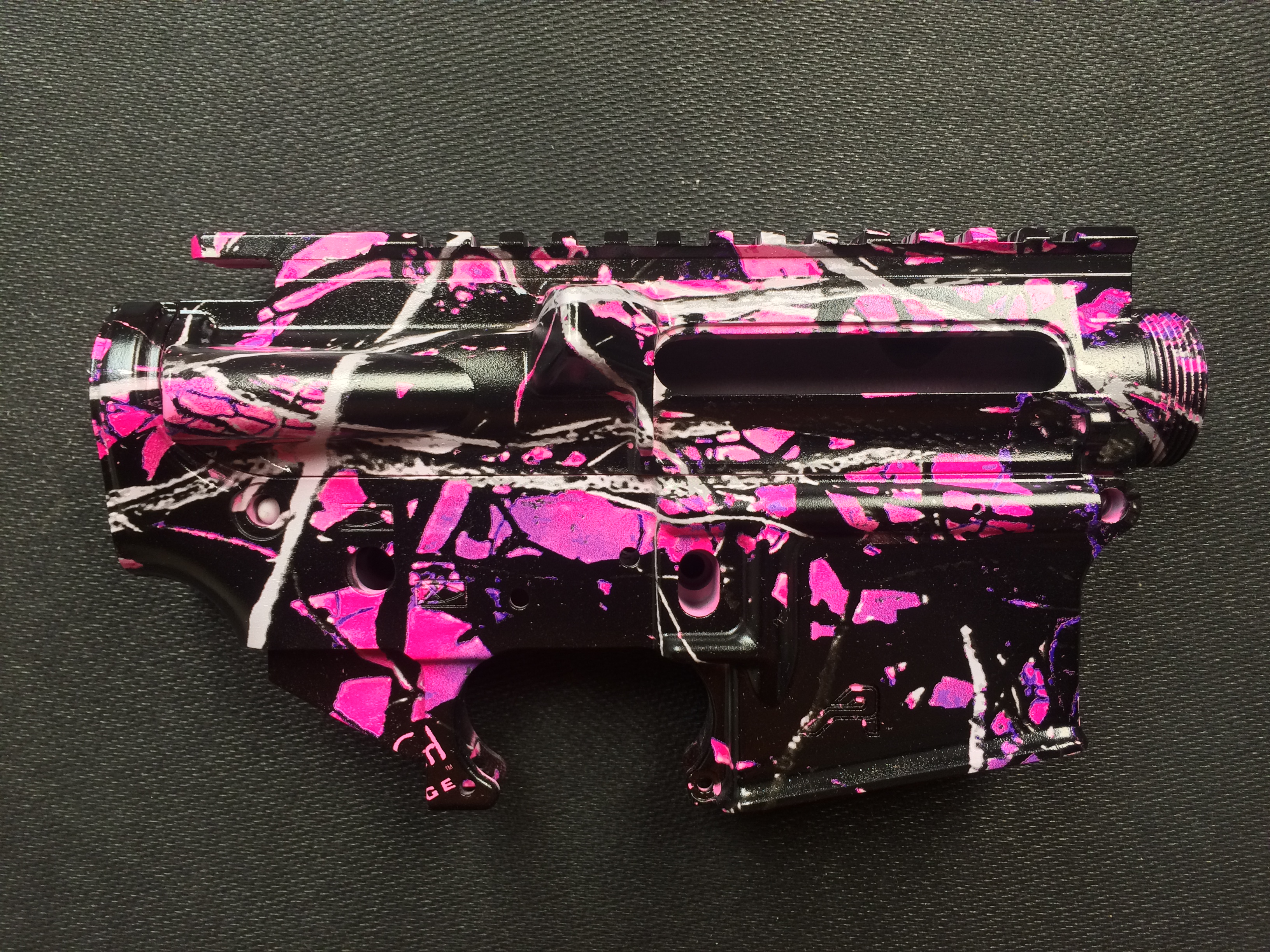AR Upper and Lower in Muddy Girl camo