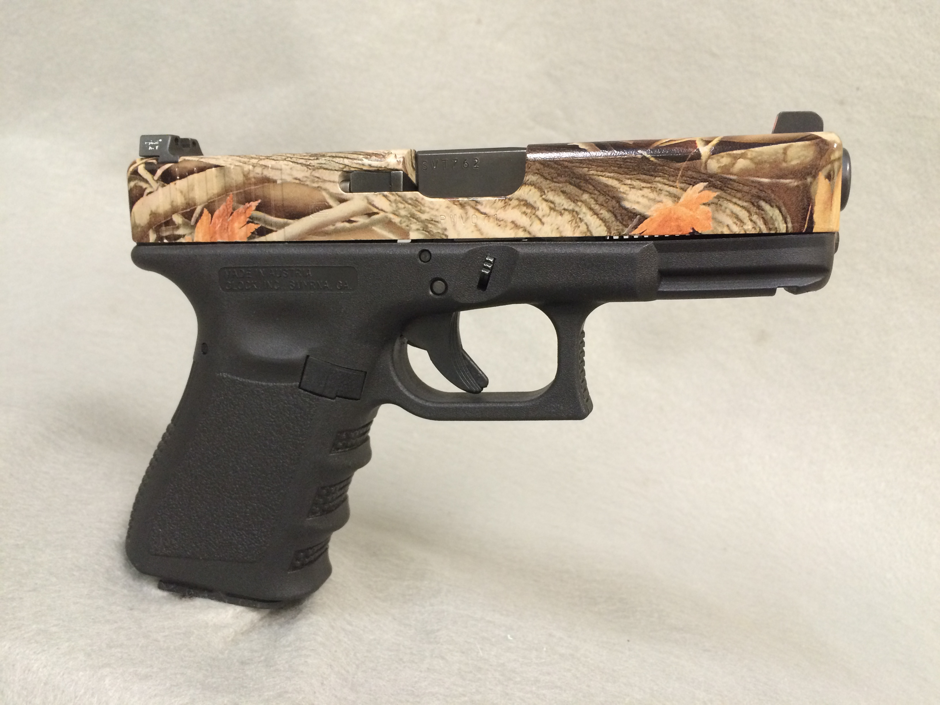 Glock 19 with Camo Slide